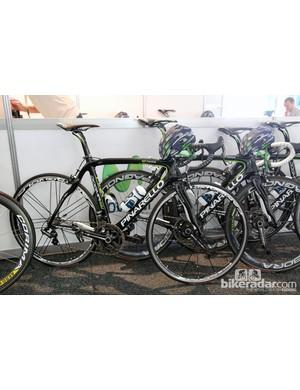 Movistar's Pinarello Dogma 65.1 Think2 at the Tour Down Under