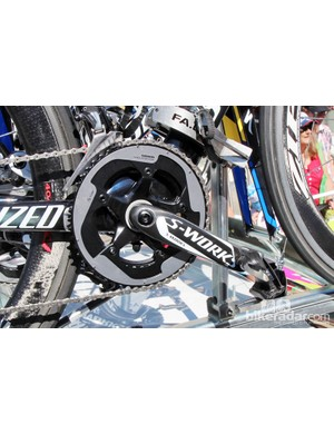 New Specialized carbon fiber crankarms for the Saxo-Tinkoff team