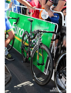 Avanti is a popular brand in Australia and a fitting steed for this UniSA rider