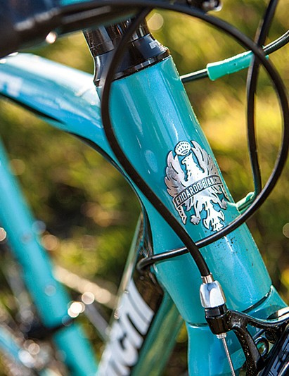 The tapered head tube isn't as tall as on a traditional sportive bike, which makes it a good choice for racier riders