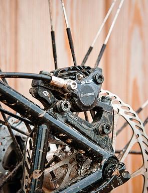 Shimano SLX 2x10 groupset disc brake