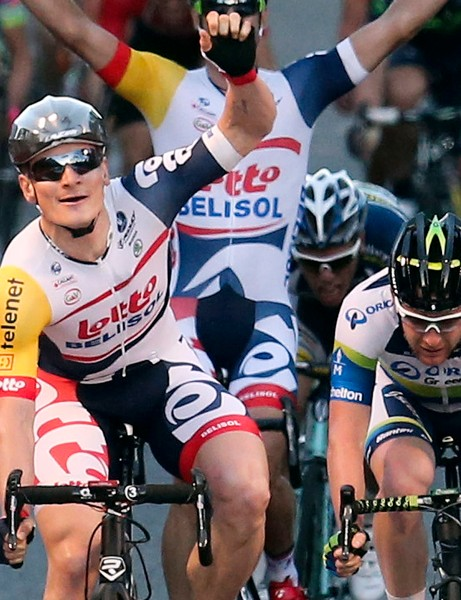 Greipel won in Australia with the new lid