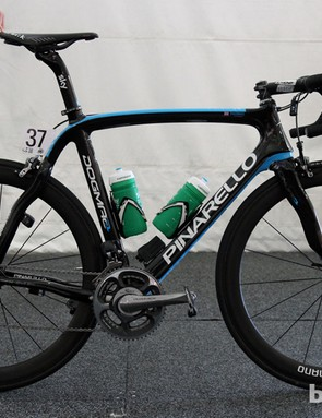Does Geraint Thomas's Team Sky Pinarello Dogma 2 look familiar? It should - it's last year's bike but, as is usually the case, it's being used to kick off the next season at the Tour Down Under