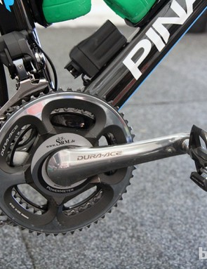 Power meters are practically standard issue for both racing and training these days, and Sky is heavily invested in the SRM system
