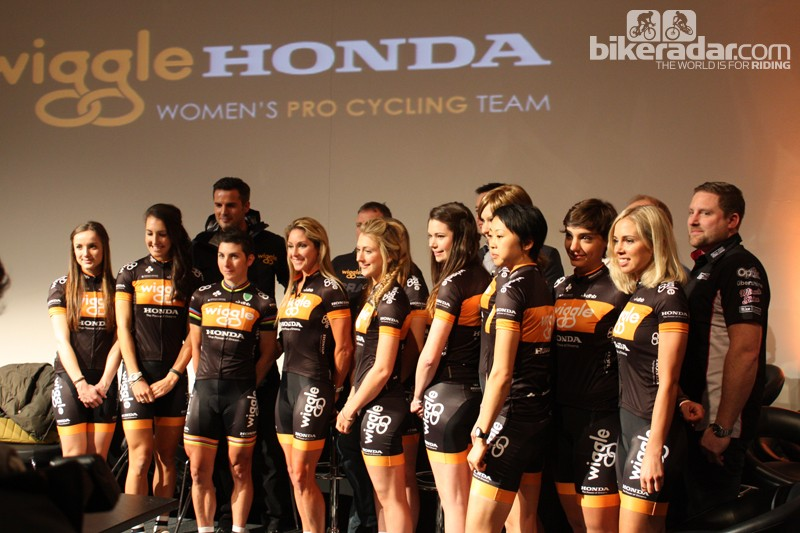 e050fb8b163 Wiggle Honda Women's Pro Cycling team launch - BikeRadar