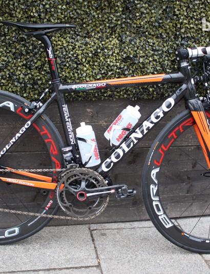 Rochelle Gilmore's Colnago C59 team bike