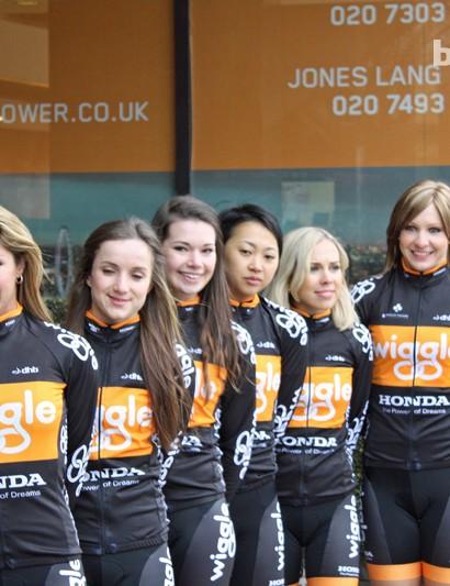 Wiggle Honda Women's Pro Cycling team launch