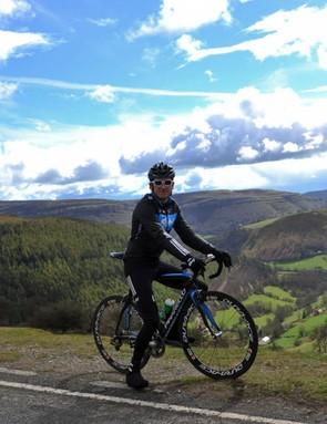 Team Sky's Geraint Thomas is the event ambassador for the Etape Cymru