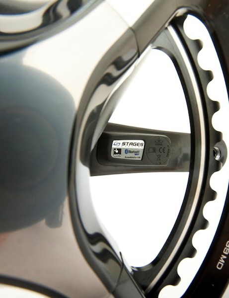 The Stages Power meter comes on a few Shimano cranks, including the new Dura-Ace 9000