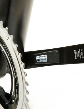 You can buy left-arm cranks or the full crankset from Stages