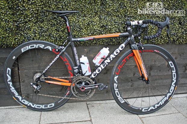 Rochelle Gilmore's Colnago C59 Wiggle Honda team bike
