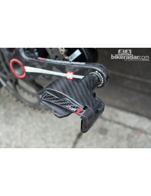 Look's Keo Blade Aero pedals feature an aerodynamic undercarriage