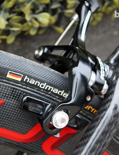 Campagnolo Super Record brakes at each end
