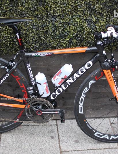 Rochelle's C59 team bike is a dinky 45cm size