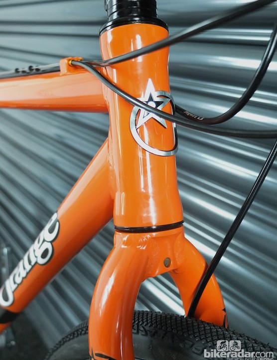 The RX9's geometry means it should be versatile enough to be a cyclocross bike, commuter or city sprinter