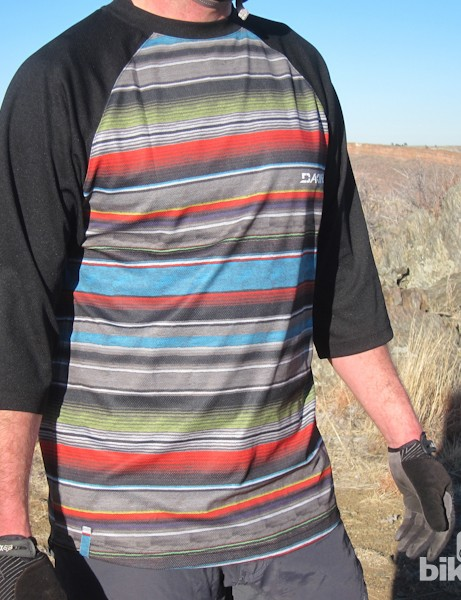 Is a horse-hair poncho your style, but too itchy to ride in? Check out Dakine's latest Dropout Jersey in Palapa