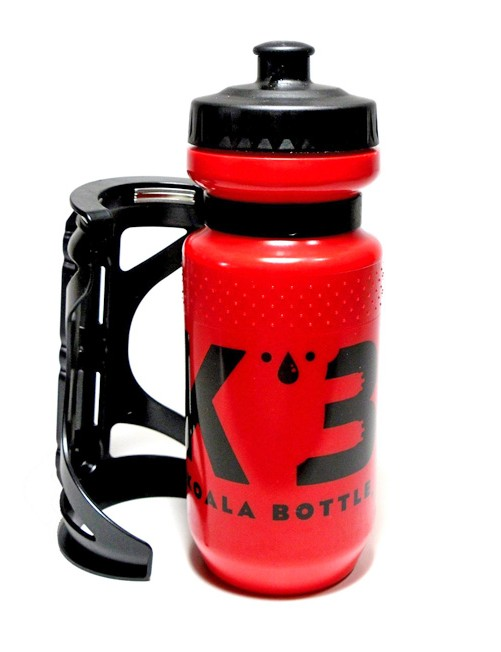 According to Koala Bottle founder and creator Anthony Goldman, you only need to get the bottle and cage near each other for a secure connection