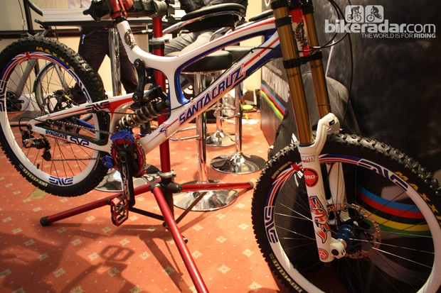 Steve Peat's world champs steed