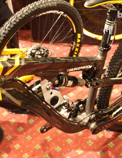 The Nukeproof Rook slopestyle bike