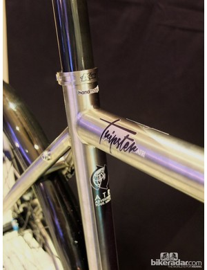 The Tripster ATR comes with a neat titanium seat clamp