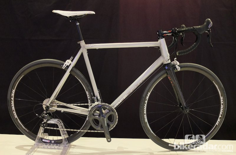 The new Kinesis Racelight Aithein prototype in bare metal
