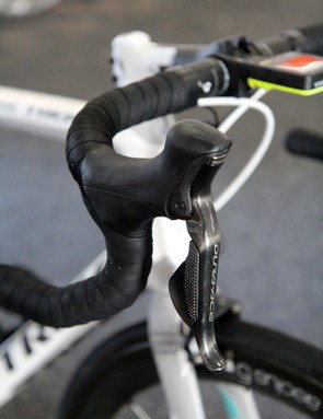 Like other Shimano-sponsored teams, RadioShack Leopard competed at the Santos Tour Down Under on the previous-generation Dura-Ace Di2 group