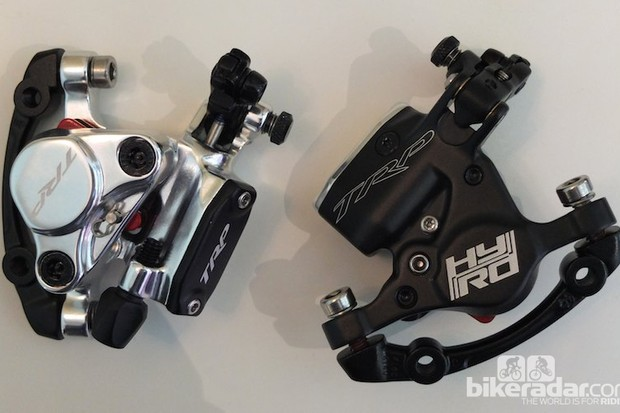 TRP's hybrid mechanical to hydraulic HY/RD disc callipers