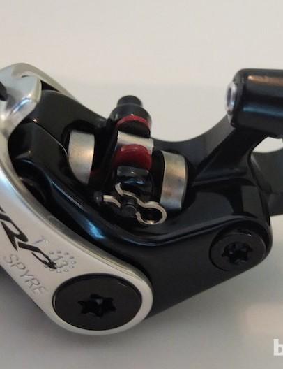 TRP's fully mechanical Spyre disc calliper