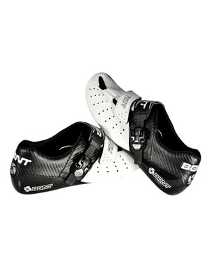Bont will release a new lower-cost shoe this March called Riot. Although it's less than half the price of the top-end Vaypor+, it still offers a bathtub-style carbon composite sole, the same fit (and huge range of sizes and lasts), and is supposedly just 70g heavier for a pair of size 42s.