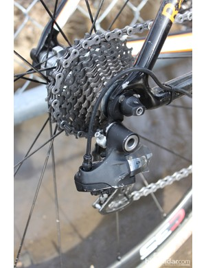 Shimano's Di2 group has proven itself to be able to withstand the rigors of cyclocross