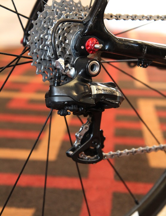 Shimano Dura-Ace Di2 7970 electronic shifting for Klaas Vantornout (Sunweb-Napolean Games)