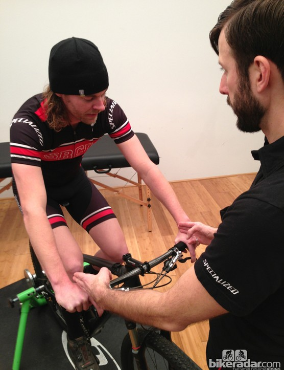 Specialized fit professor Aaron Post recommends balancing biomechanics with terrain and riding style to find one's ideal fit