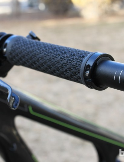 Make sure to install bar plugs before hitting the trails!