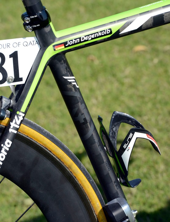 Felt uses a new carbon fiber - UHC Nano TeXtreme - for this new frame