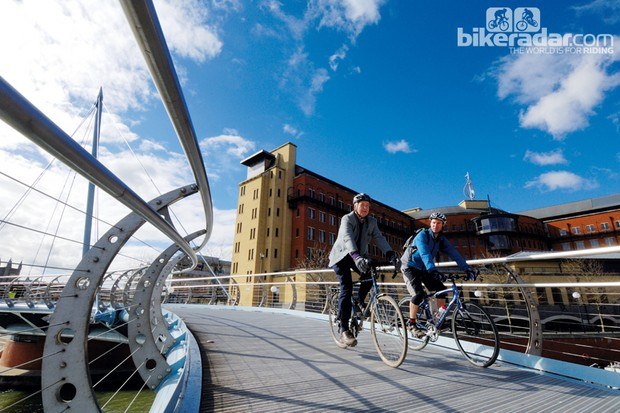 UK cycling pioneers Sustrans say they've benefited from EU funding in the past