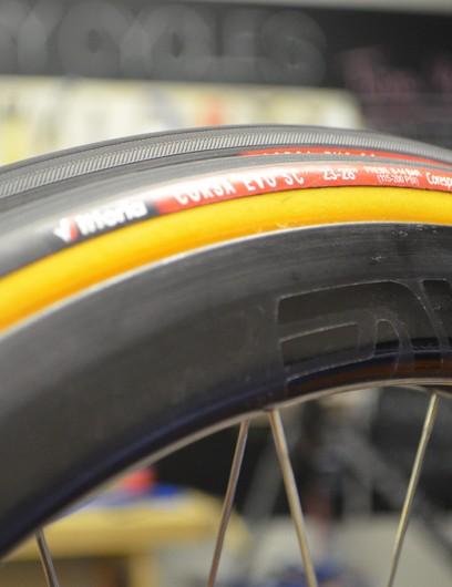 Clive de Sousa has his eye on a new set of ENVE wheels