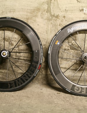Lightweight Fernweg clincher wheelset