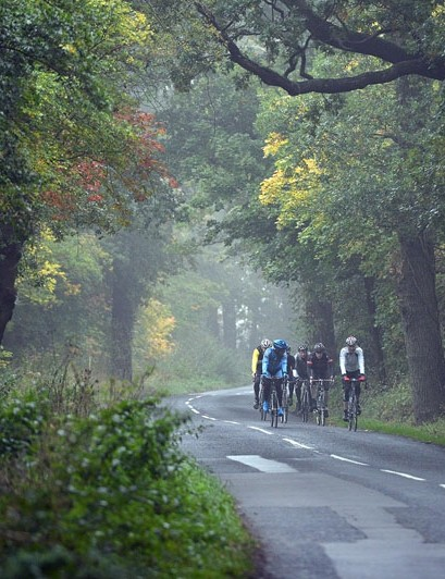 Part of the route of the Prudential RideLondon Surrey 100