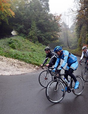 Box Hill features in the Prudential RideLondon Surrey 100