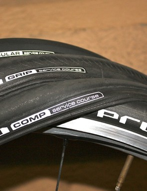 The full Pro4 clincher range is available in the UK and US now, with the tubular coming in about six weeks