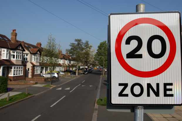 Brighton joins several parts of the UK in introducing a 20mph speed limit in certain areas