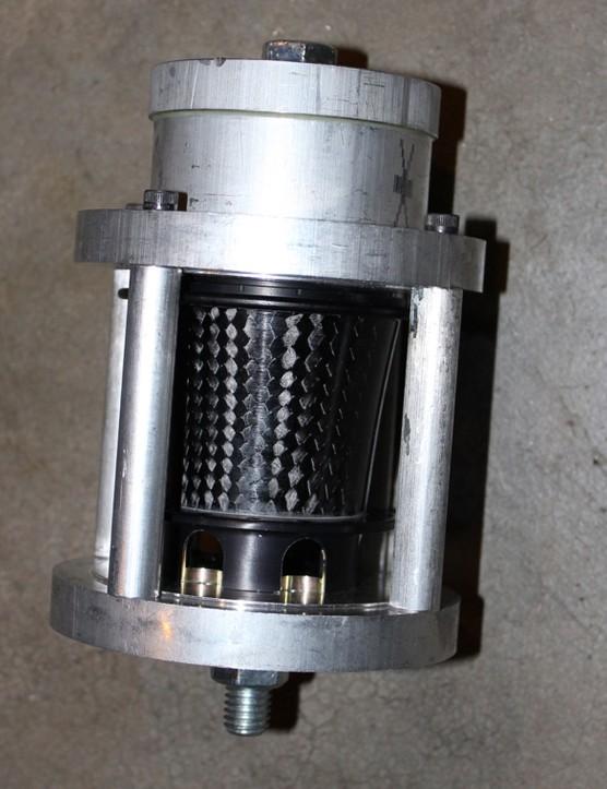 A hub mold