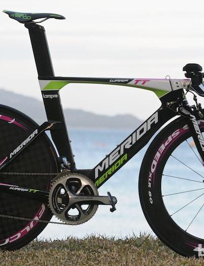Adriano Malori's Warp TT bike
