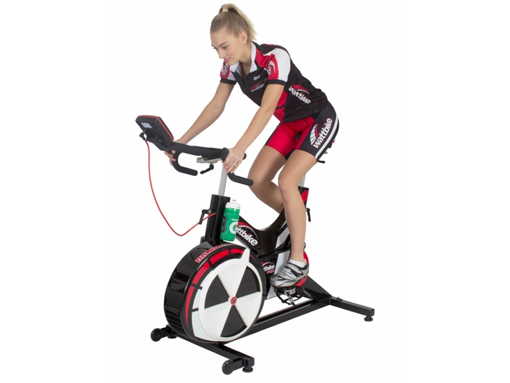 The 2013 Wattbike being put through its paces