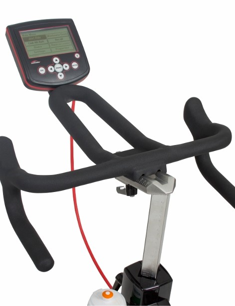 The 2013 Wattbike gets a redesigned handlebar with an improved drop section and enhanced tri-bar extension