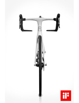 SRAM Red brake levers look to be operating a disc brake on the front wheel. Is it the SRAM Red hydraulic disc?