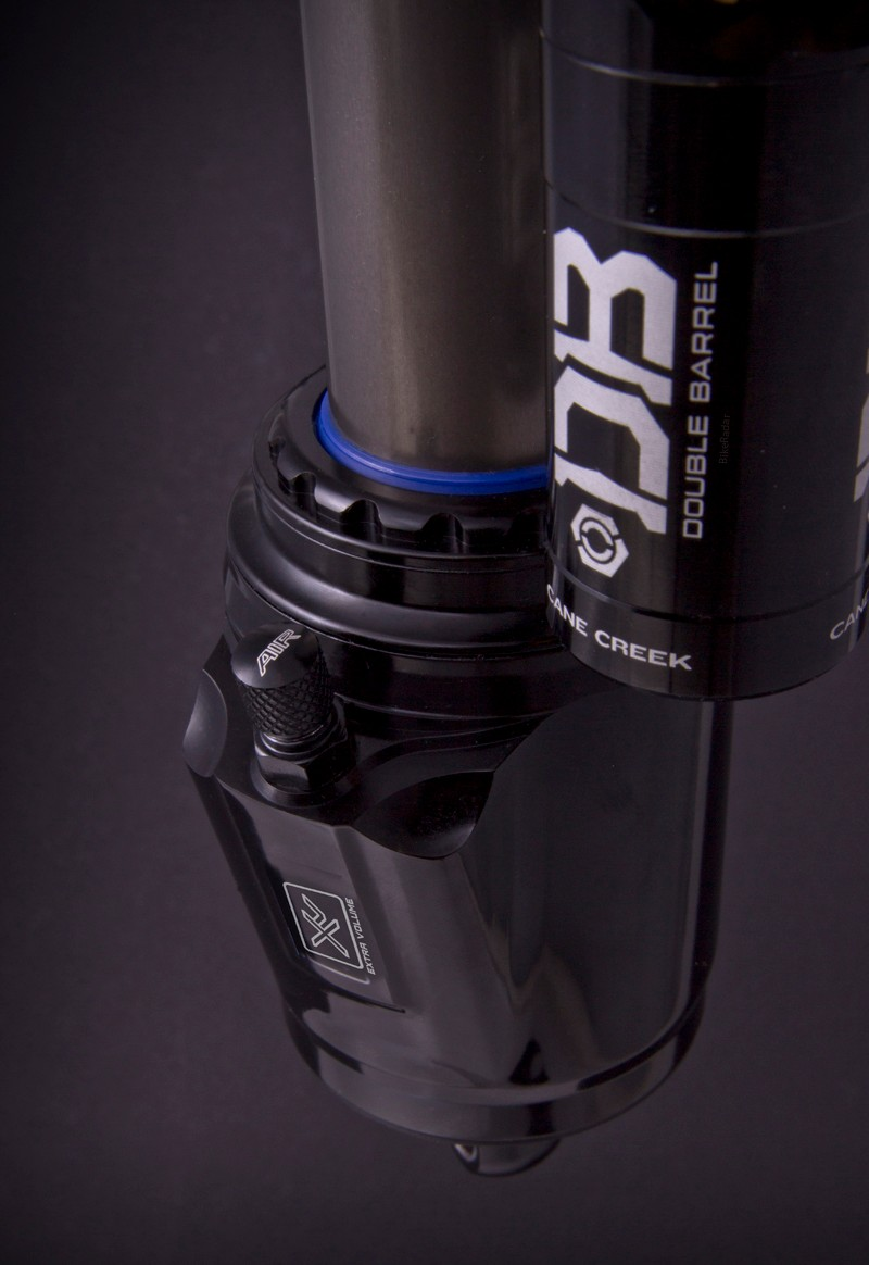 Air pressure on the new XV can is adjusted by a standard Schrader valve