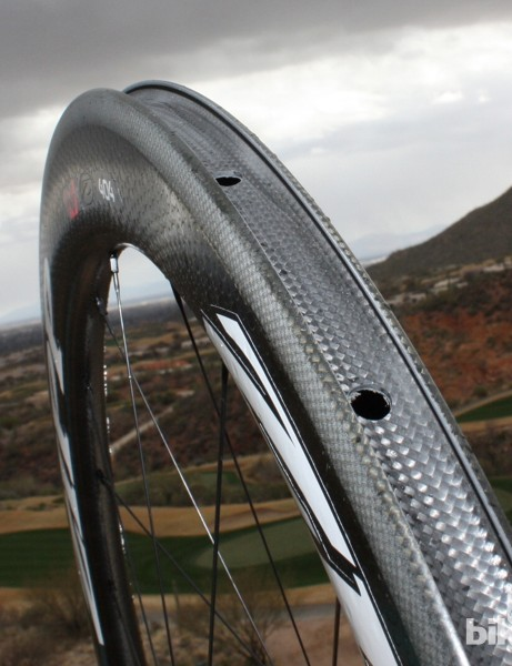 Zipp wasn't the first wheelmaker with a carbon clincher, but it has committed to the category now