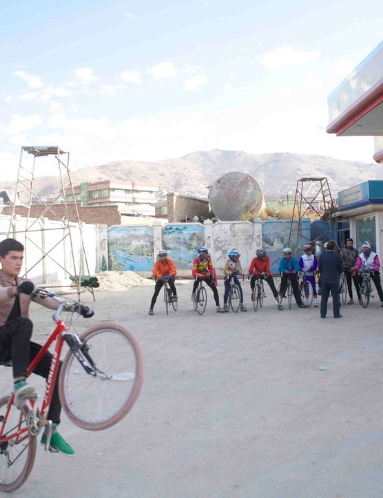 Afghanistan has national cycling teams for both men and women, with hopes of eventually fielding a team for the Olympics. However, equipment and financial resources are in short supply