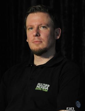 New Multivan Merida Biking Team manager Fabian Aust